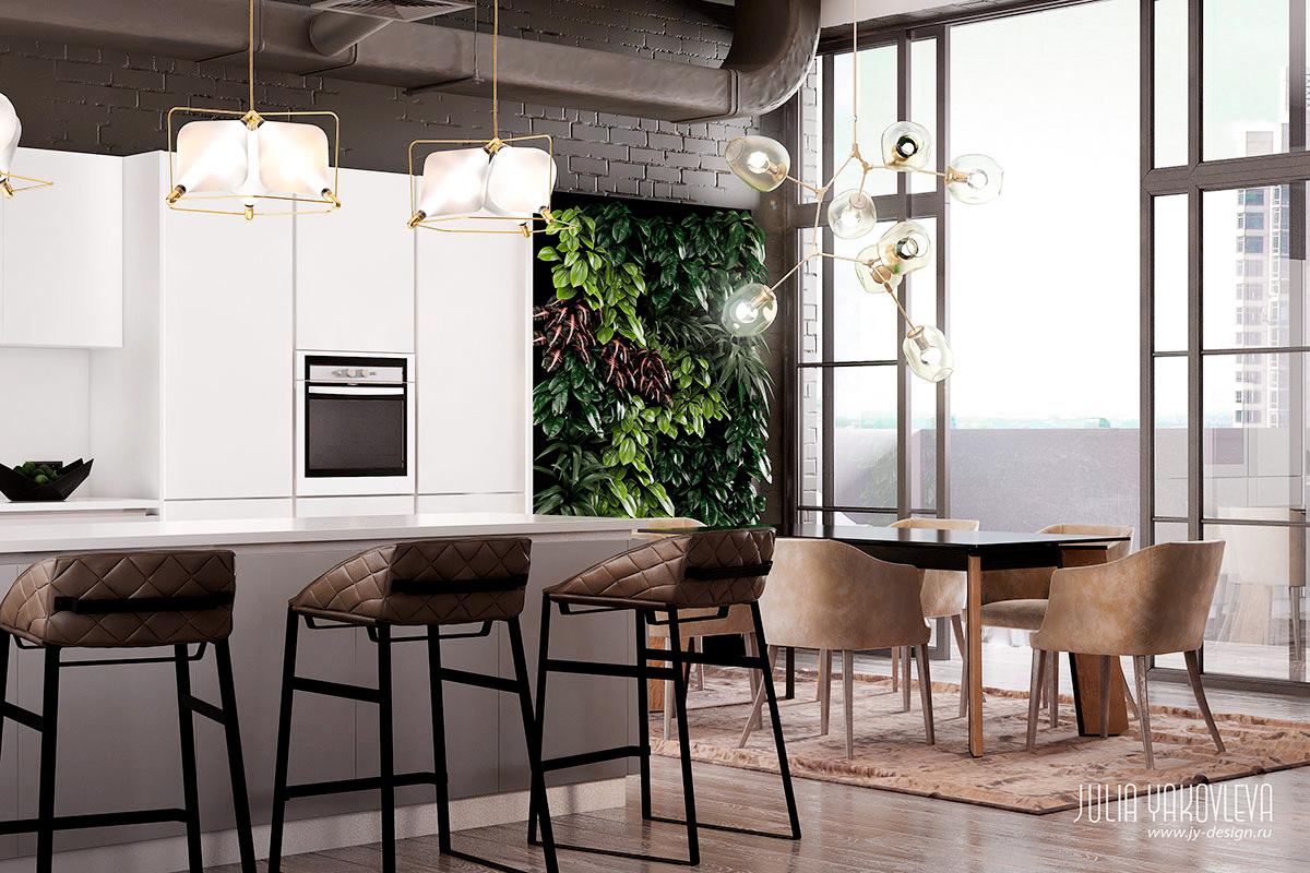 JY-design | Квартира в серых тонах, ЖК «Большой»